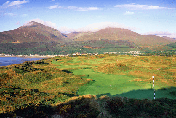 Royal County Down Championship Course Pioneer Golf